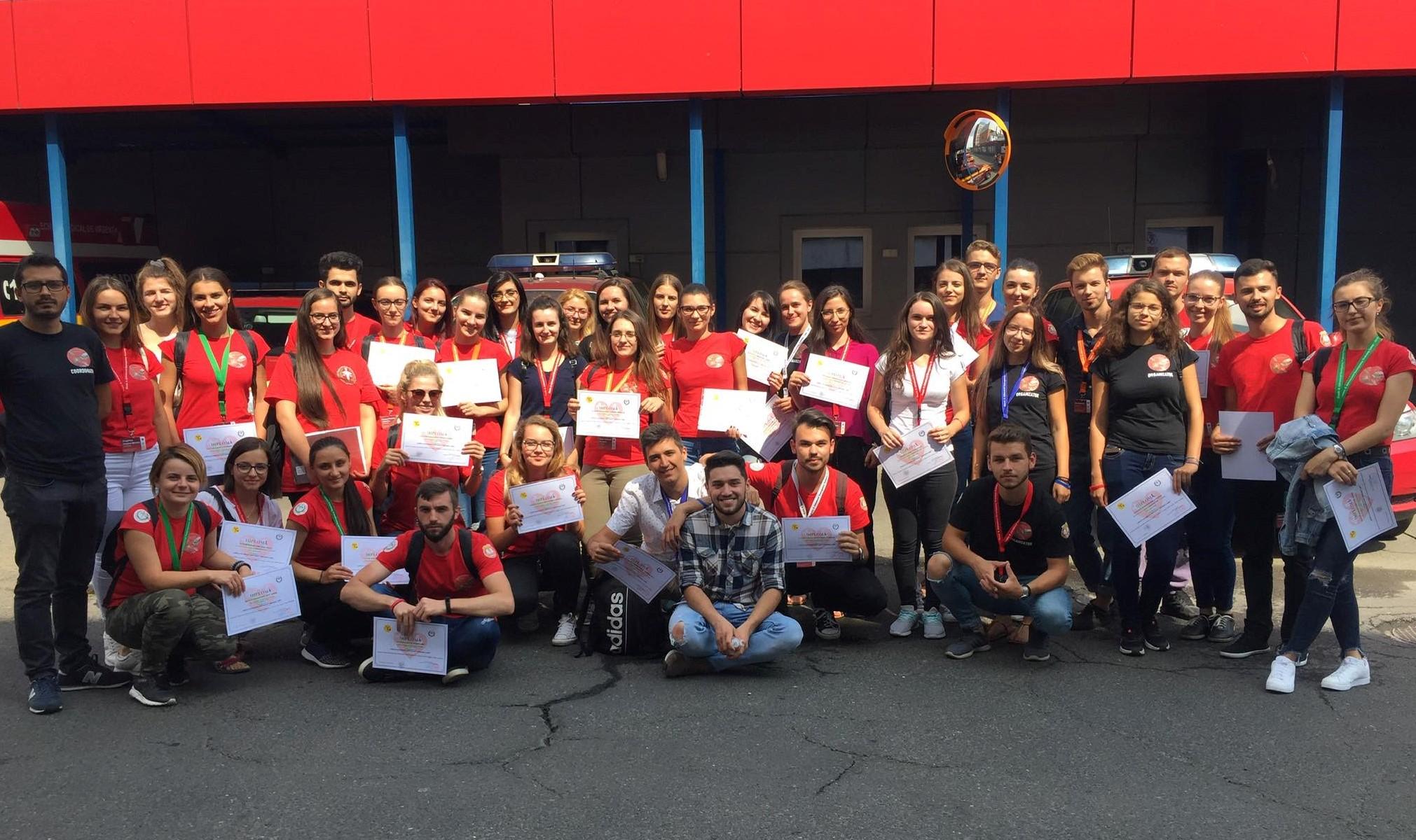 Tabără pentru studenții pasionați de medicina de urgență, la Târgu Mureș