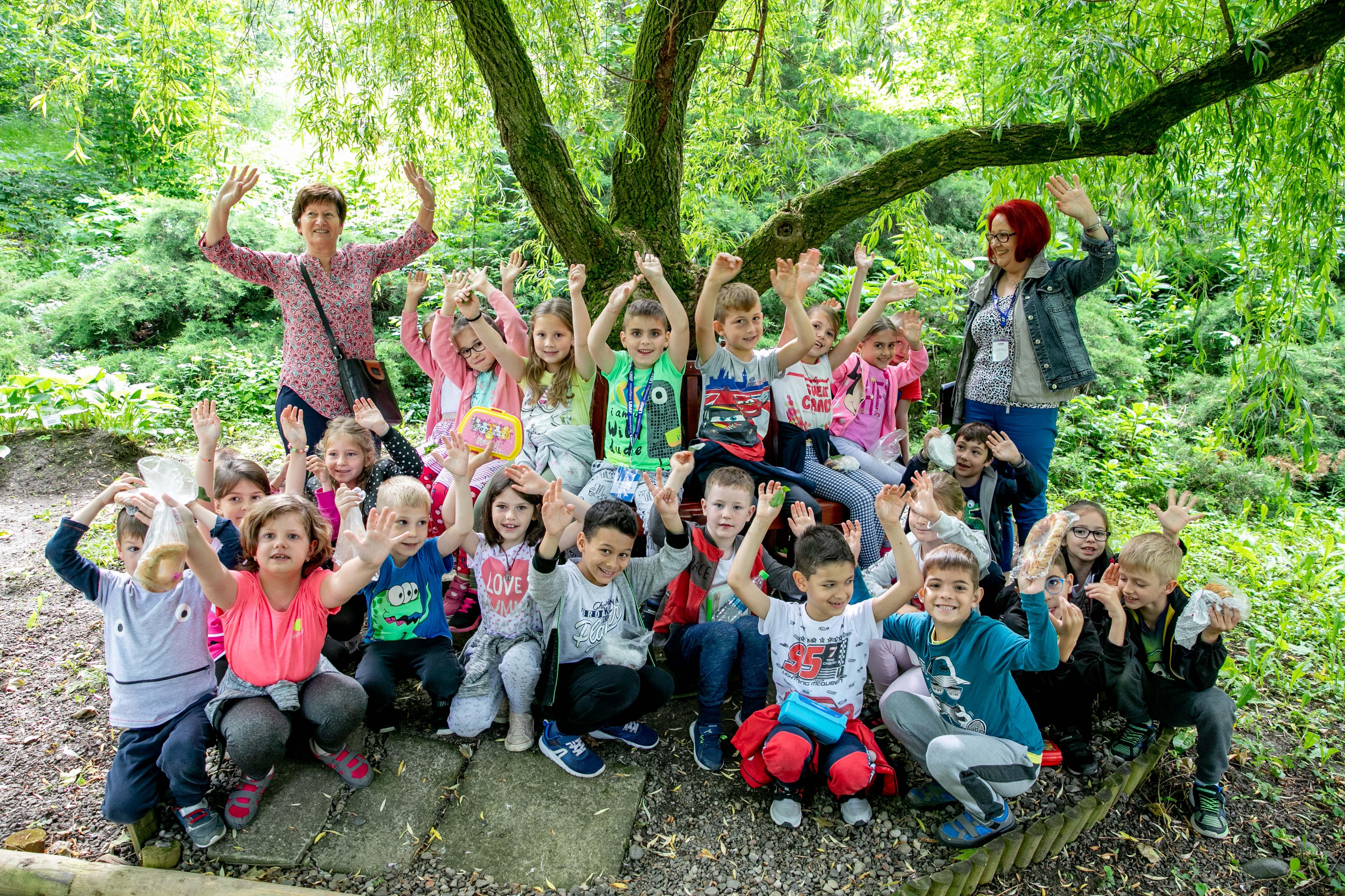 25 de preșcolari din Târgu Mureș, în vizită la Grădina Botanică