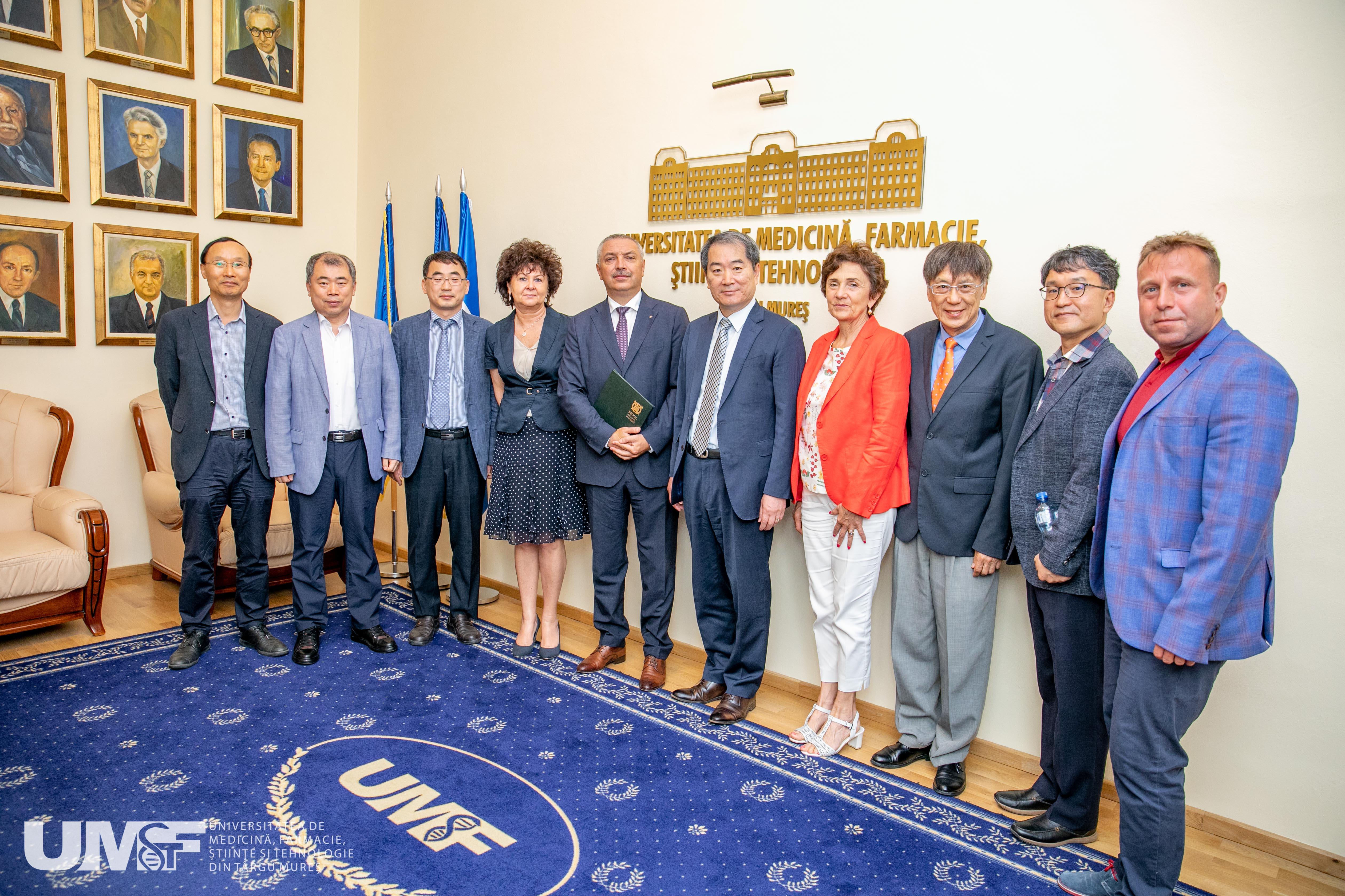 Punți academice și științifice între Coreea și România