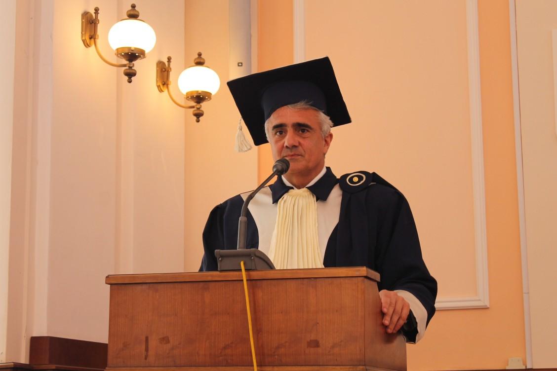 Profesor de la Universitatea din Salento, Italia, invitat astăzi să susțină o prelegere la Facultatea de Economie și Drept