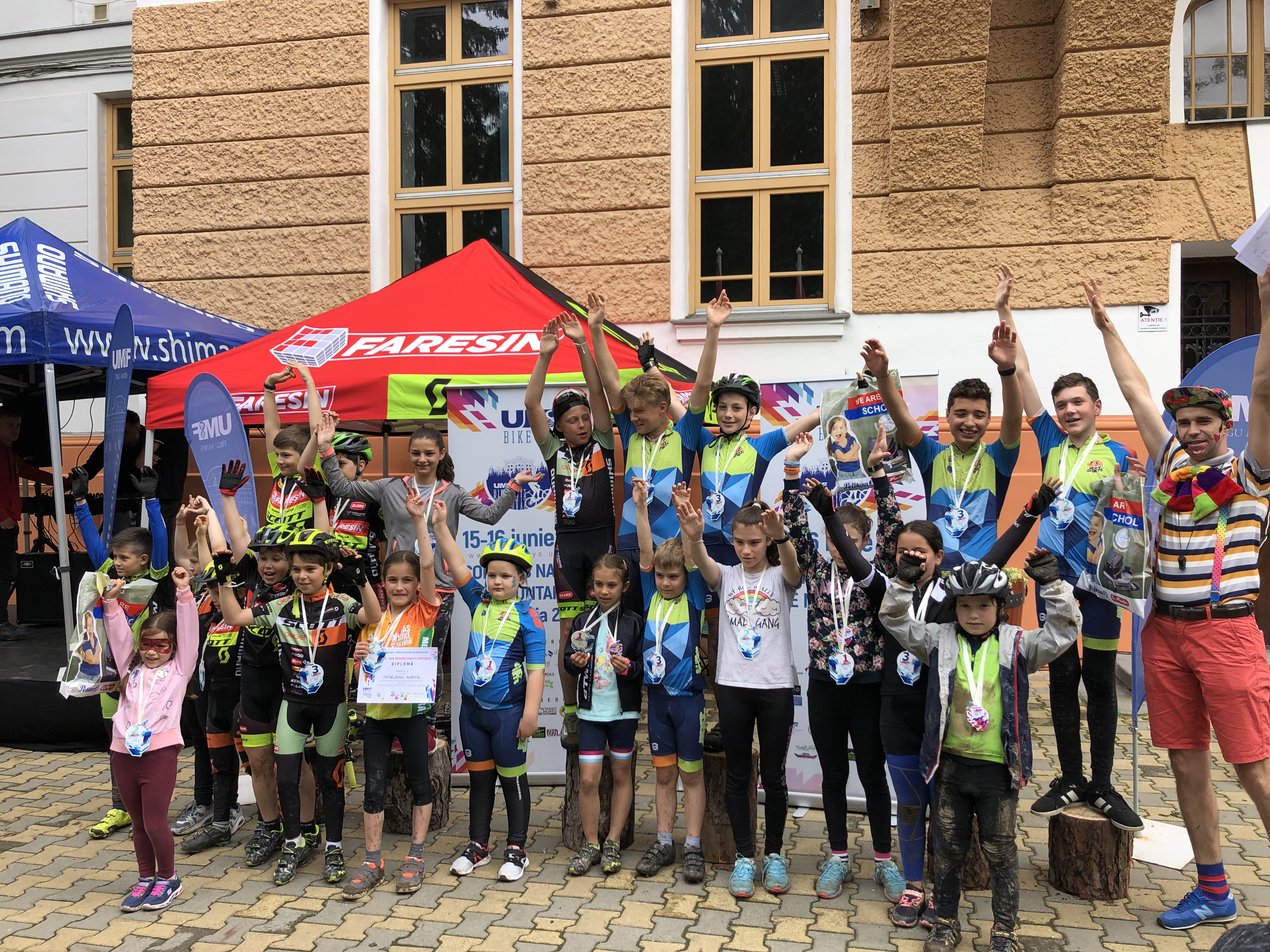 UMFST Bike Days 2019: Aproximativ 2.000 de persoane au sărbătorit Ziua Internațională a Copilului la UMFST Târgu Mureș