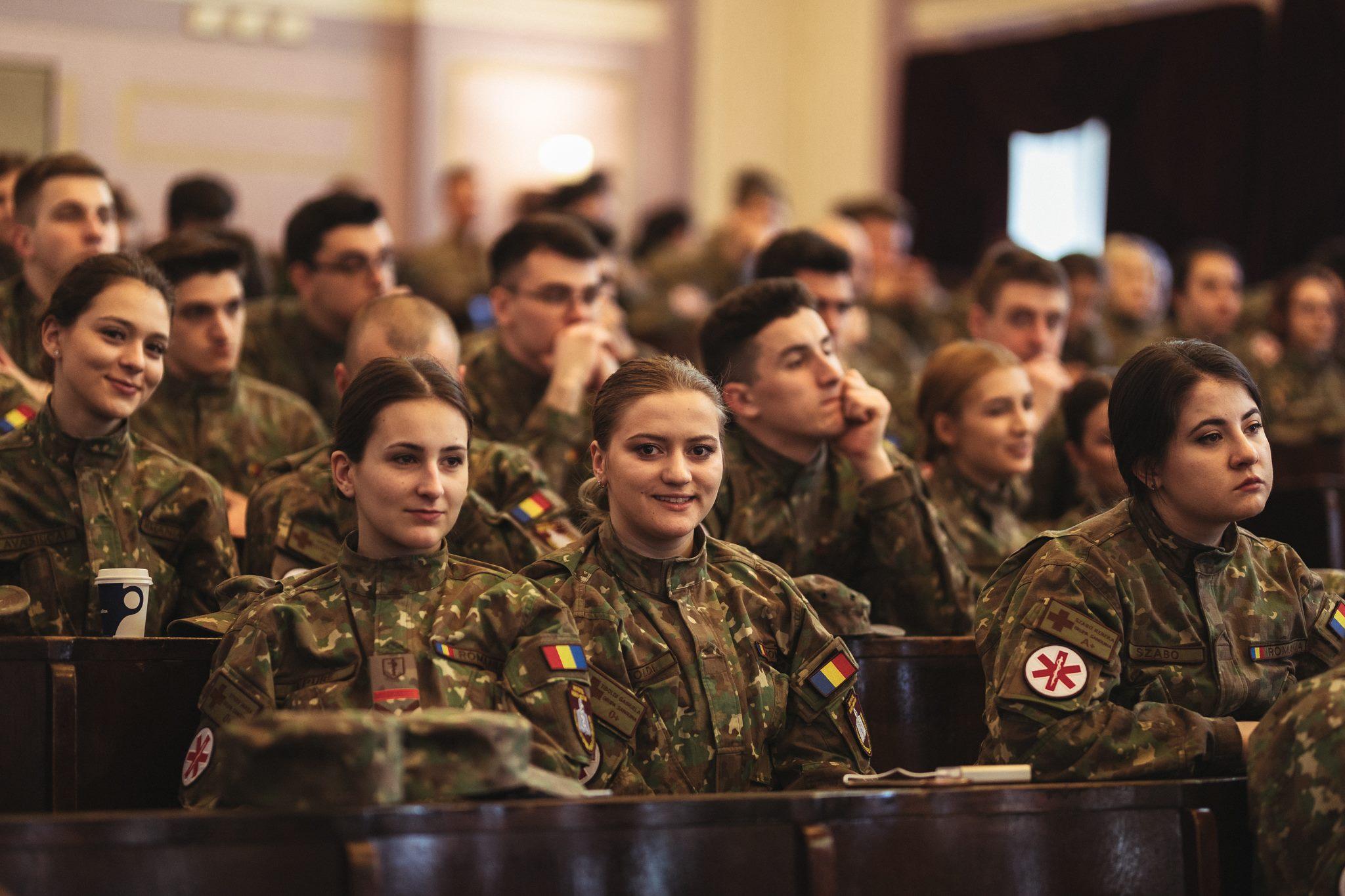 Cea mai bună lucrare cu tematică militară prezentată într-o sesiune de comunicări științifice a studenților din universități de medicină și farmacie