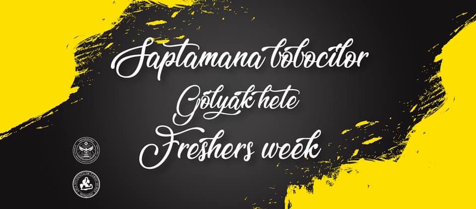 """O săptămână dedicată bobocilor UMFST """"George Emil Palade"""" din Târgu Mureș"""