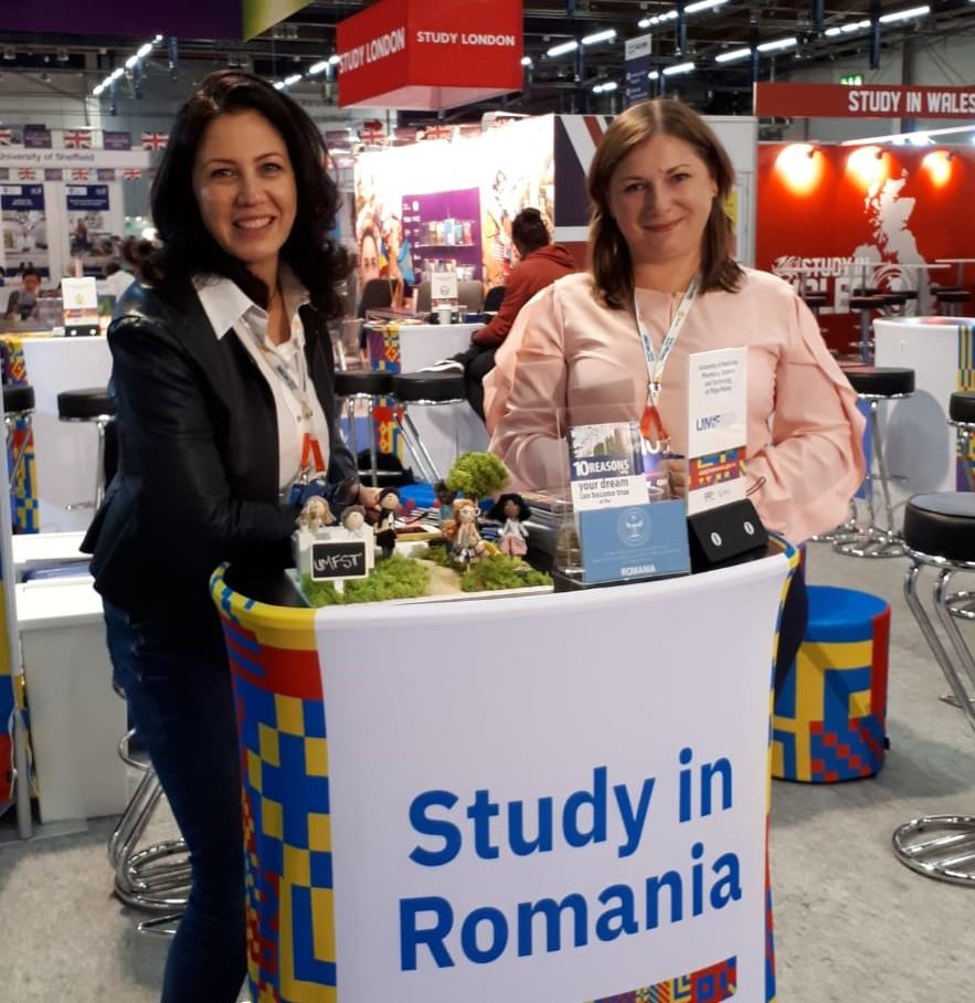 UMFST Târgu Mureș, reprezentată la cea mai importantă reuniune din Europa în domeniul internaționalizării educației