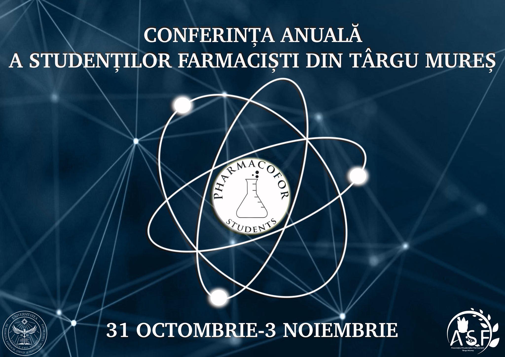 """Programul Conferinței Anuale a Studenților Farmaciști """"PharmacoFor"""""""