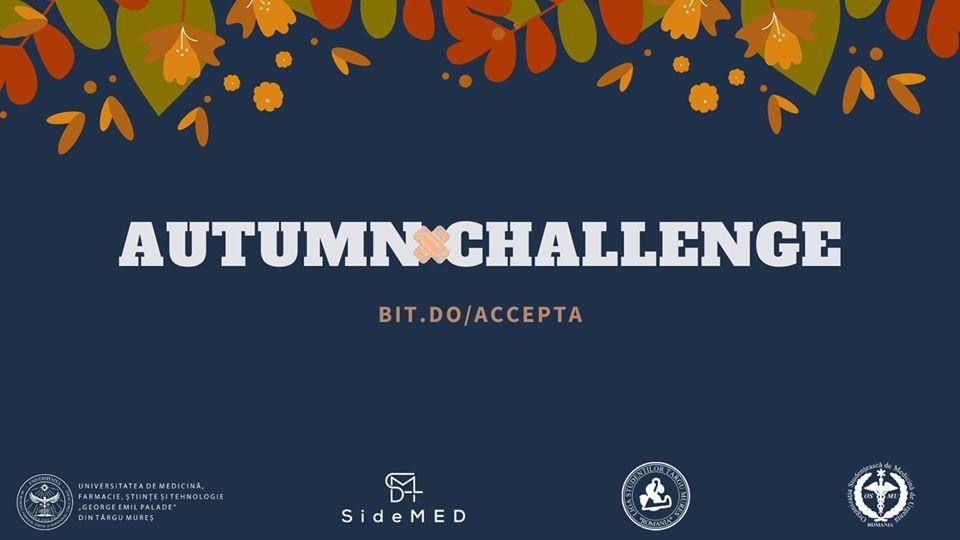 AUTUMN CHALLENGE – provocarea caritabilă a anului 2019 pentru studenții la medicină din Târgu Mureș