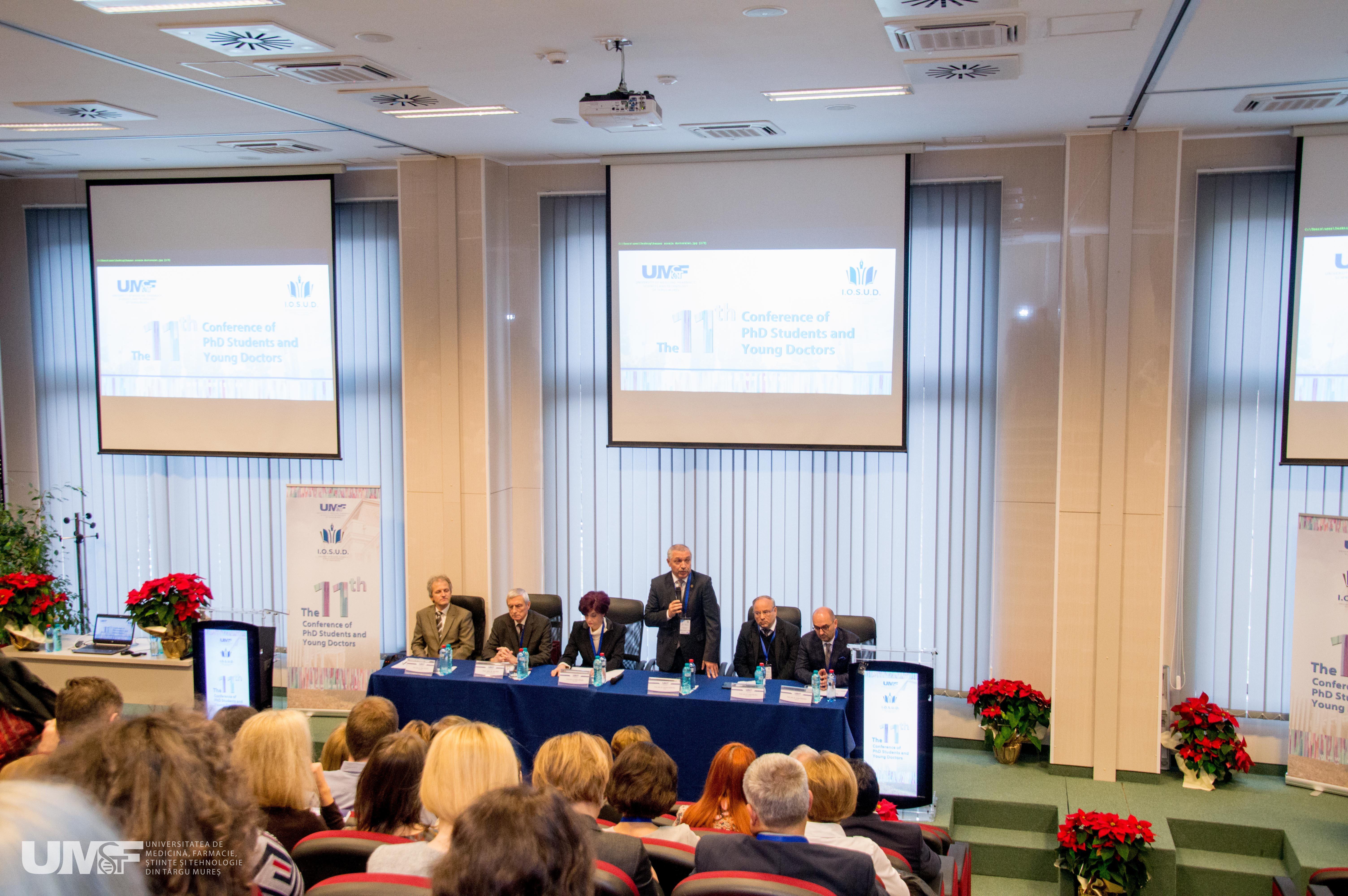 Foto conferinta doctoranzilor