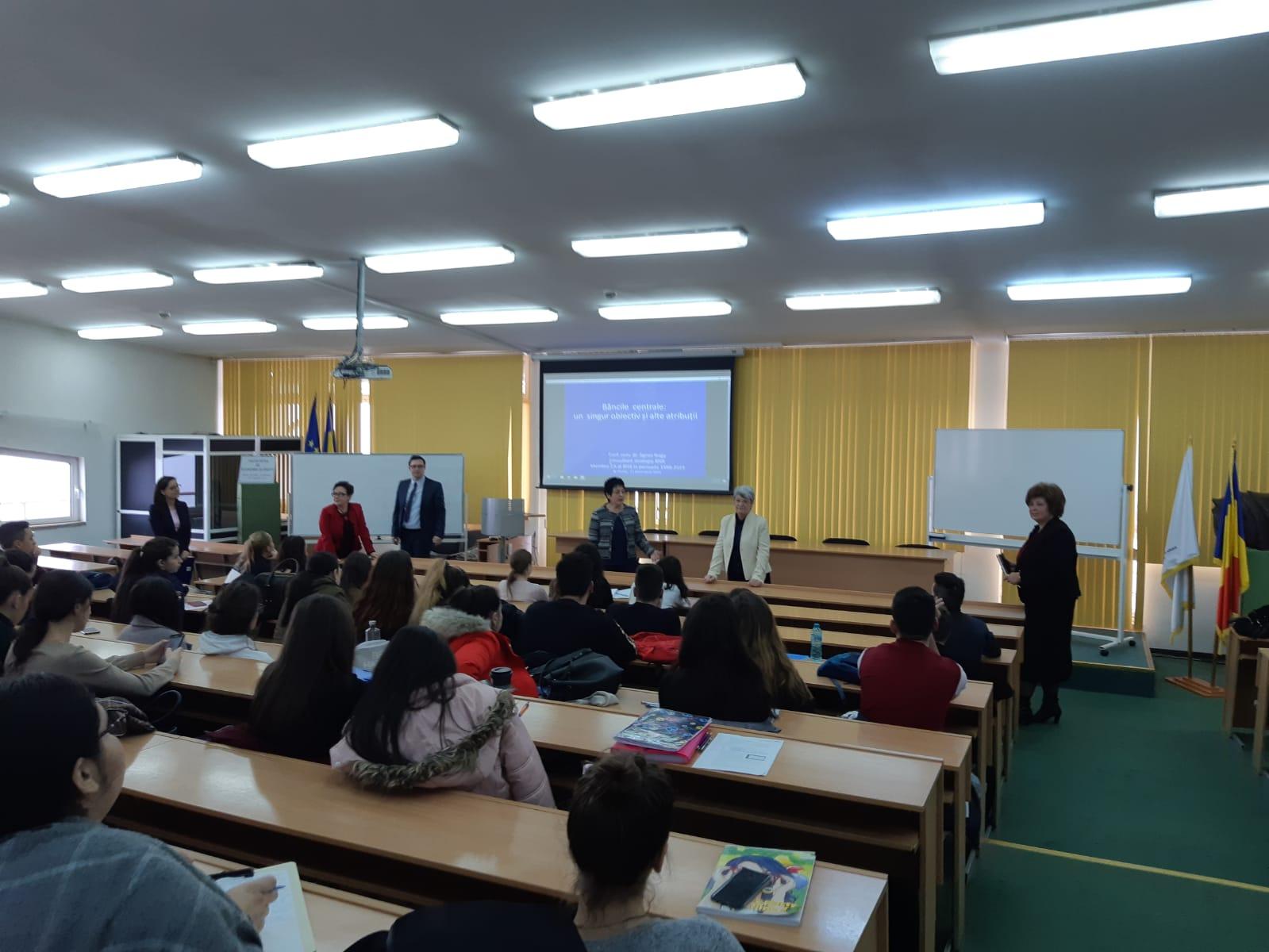 În dialog cu BNR. Workshop pentru studenții economiști