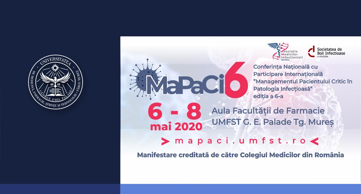 """Conferinţa Naţională cu participare Internațională """"Managementul Pacientului Critic în Patologia Infecţioasă"""""""