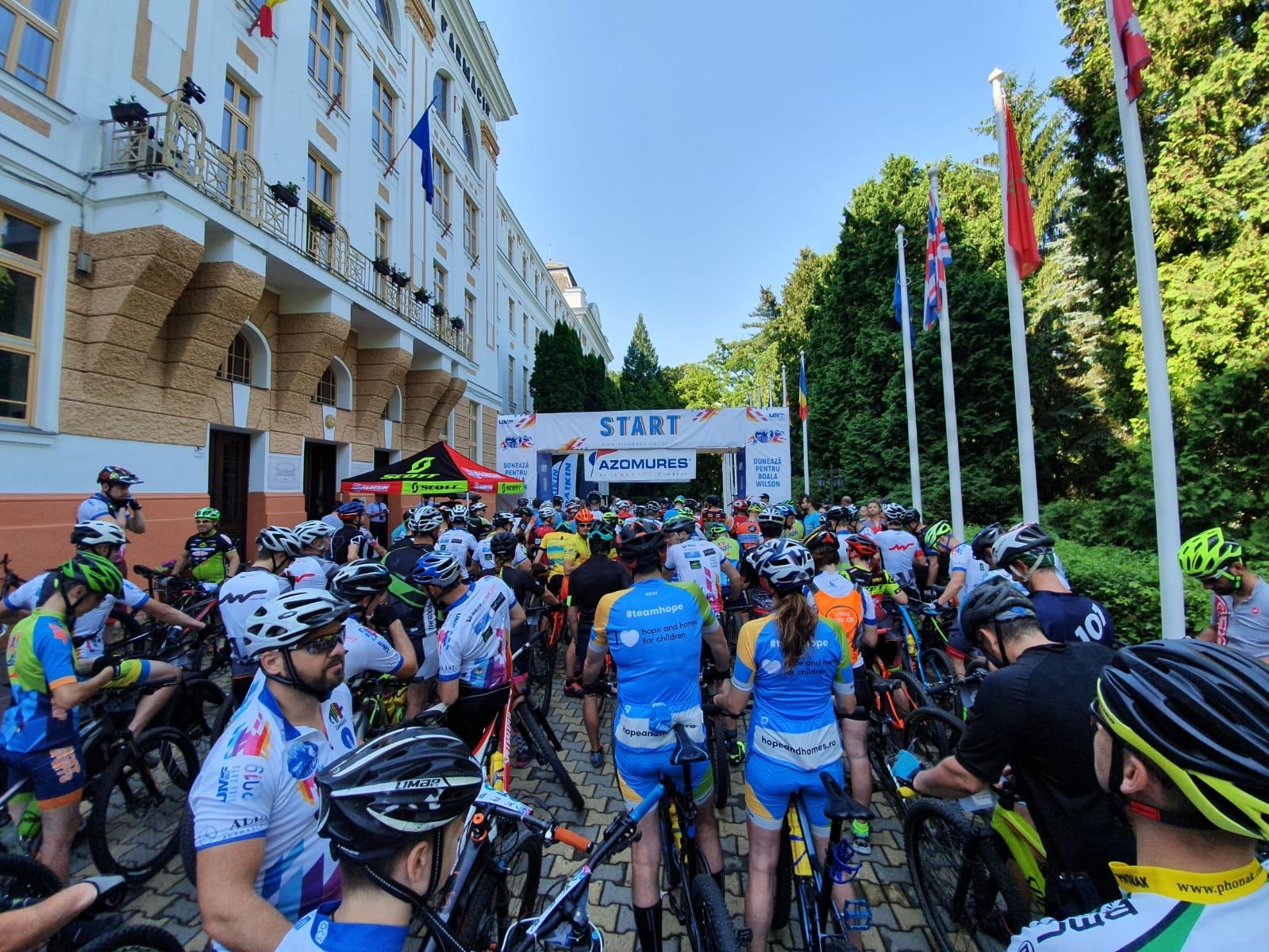 Foto voluntari UMFST Bike Days