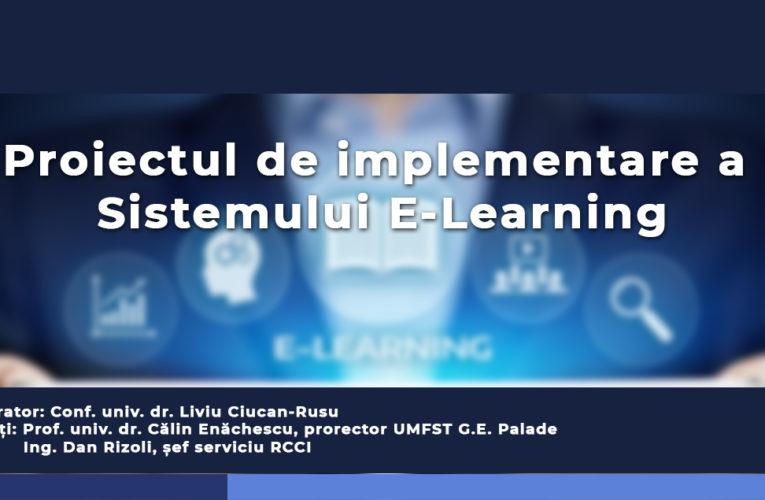 Cadrele didactice ale UMFST participă astăzi la un webinar privind organizarea activităților didactice online