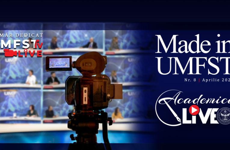 A apărut un nou număr al revistei Made in UMFST!
