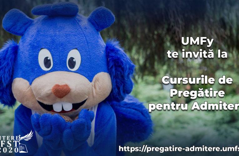 VIDEO: UMFy te invită la cursurile de pregătire online pentru admiterea la UMFST!