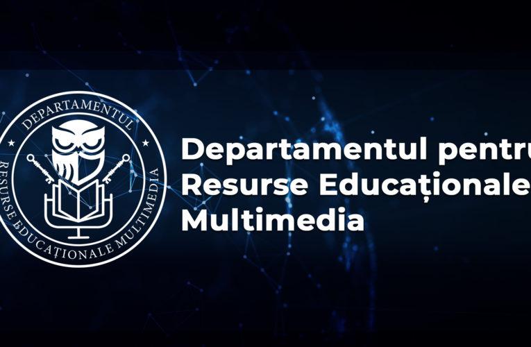 VIDEO: Departament pentru Resurse Educaționale Multimedia la UMFST
