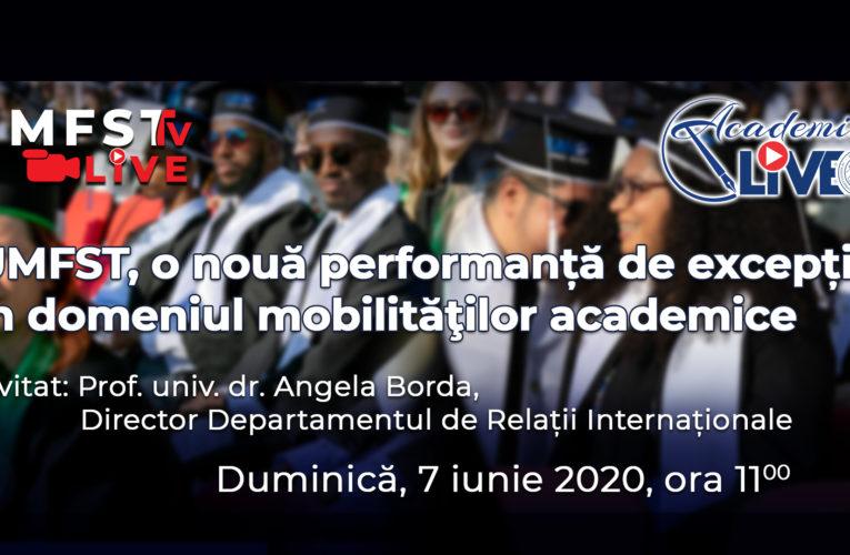 UMFST, o nouă performanță de excepție în domeniul mobilităţilor academice