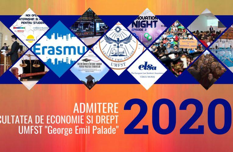 Admitere 2020. Sesiune online de întrebări și răspunsuri despre programele de masterat din cadrul Facultății de Economie și Drept