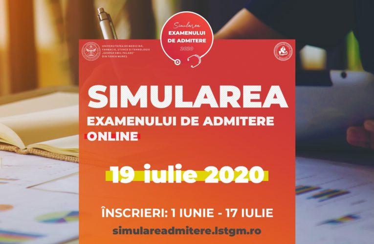 O nouă simulare online a examenului de admitere la UMFST!