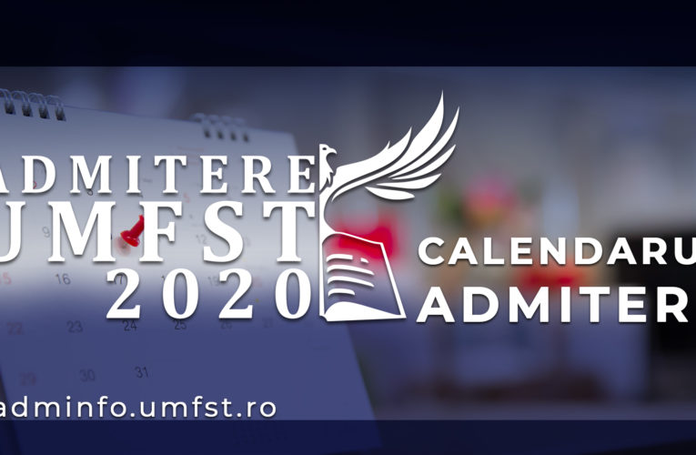 """Calendarul admiterii 2020 la Facultatea de Științe și Litere """"Petru Maior"""""""