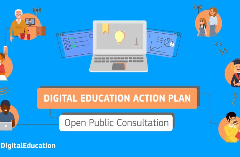 Consultare publică pe tema educației digitale