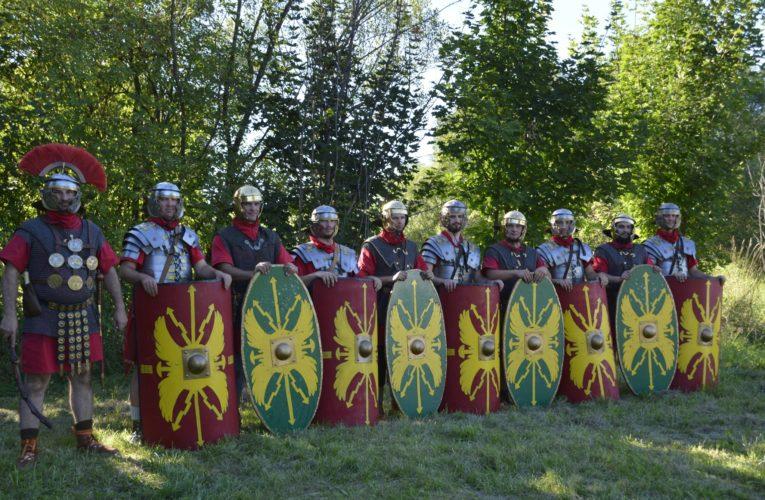 Studenți și cadre didactice UMFST, la Festivalul Roman de la Călugăreni