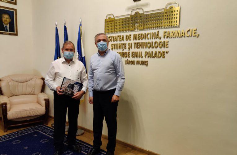 "UMFST ""George Emil Palade"" din Târgu Mureș, donație din partea Rotary Club Târgu Mureș"