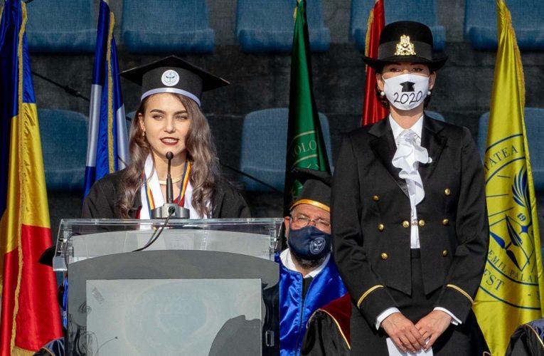 Interviu cu șefele de promoție de la Medicină, limba română, și Medicină Militară