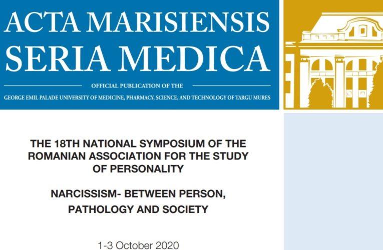 Un nou simpozion al Asociaţiei Române de Studiu a Personalităţii