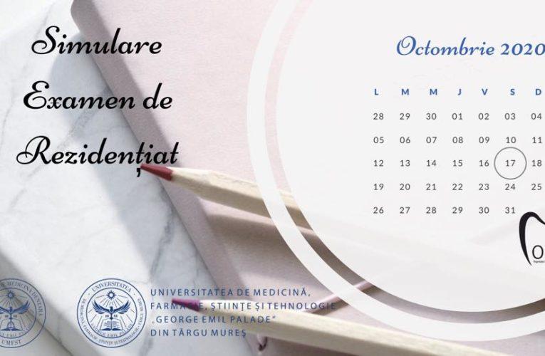 Simularea examenului de Rezidențiat pentru specializarea Medicină Dentară se va desfășura online