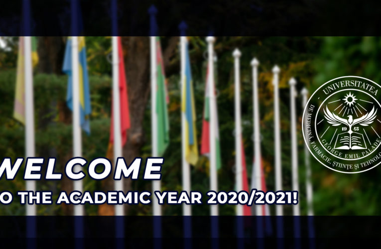 Welcome to the academic year 2020/2021!