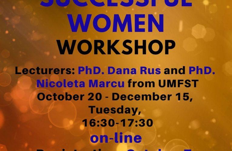 Workshop-uri online pentru studenții UMFST!