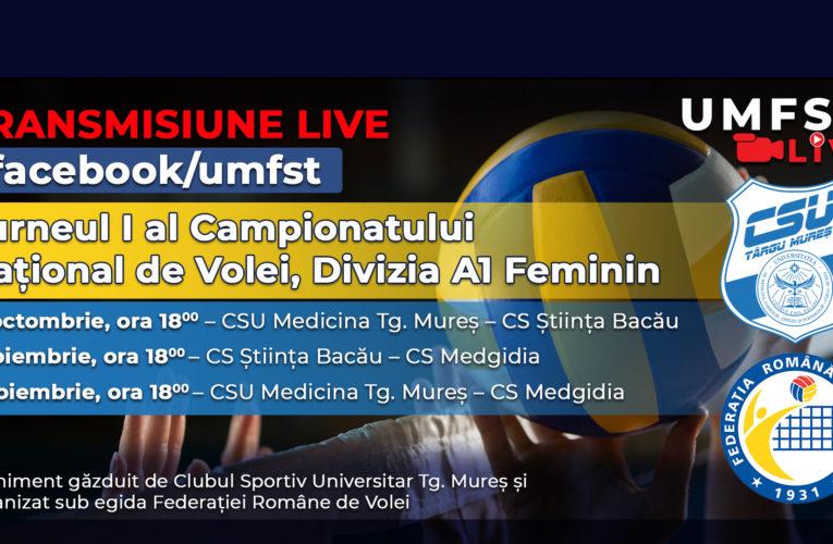 Turneul I al Campionatului Național de Volei, Divizia A1 Feminin