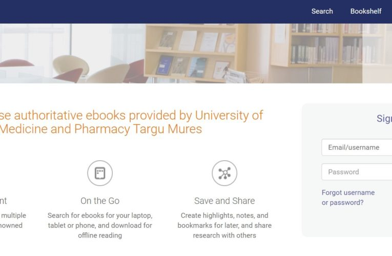 Acces gratuit la o colecție numeroasă de cărți electronice multidisciplinare