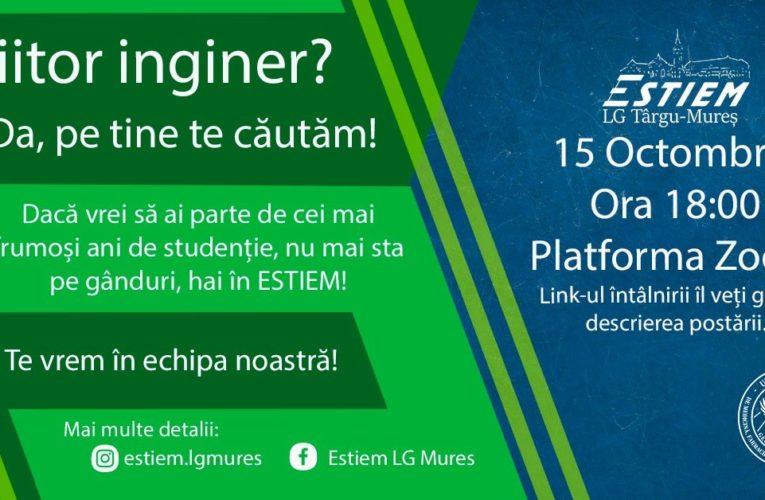 Viitorii ingineri, invitați să devină voluntari în cadrul organizației ESTIEM