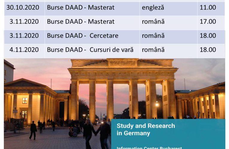 Burse DAAD pentru comunitatea academică UMFST!