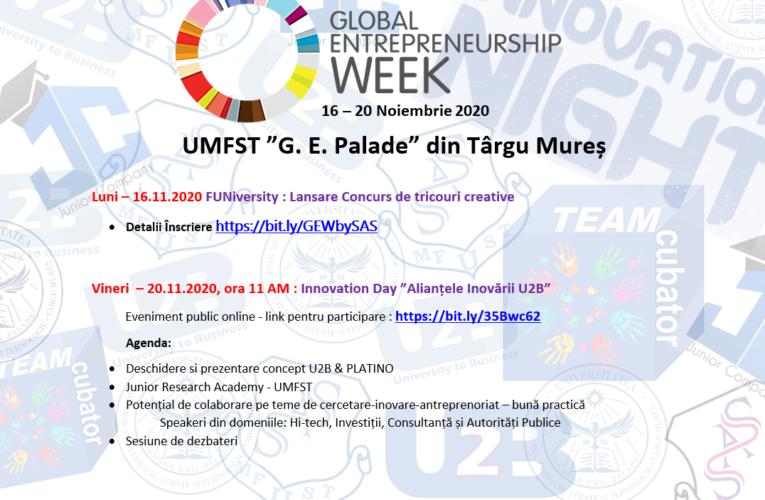 Eveniment online dedicat cercetării, inovării și antreprenoriatului