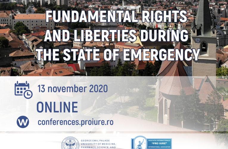 Conferință Internațională în Drept, Administrație Publică și Medicină