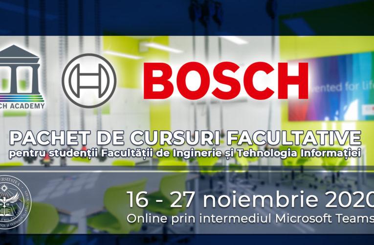 "UMFST ""George Emil Palade"" din Târgu Mureș și BOSCH Blaj organizează prima ediție BOSCH Academy"