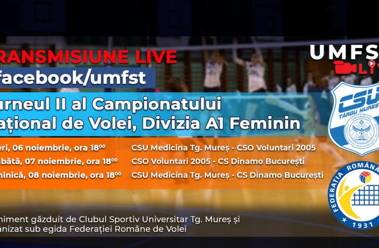 Turneul al II-lea al Campionatului Național de Volei, Divizia A1 Feminin