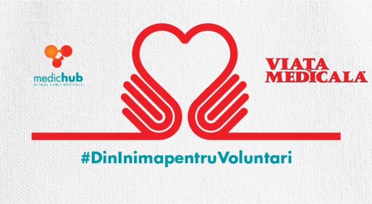 """#DinInimapentruVoluntari – acces gratuit la """"Medic.ro"""" şi """"Viaţa Medicală"""" pentru studenţii voluntari de la Medicină"""