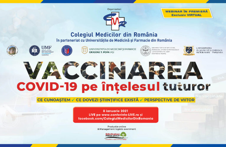 Vaccinarea COVID-19 pe înțelesul tuturor