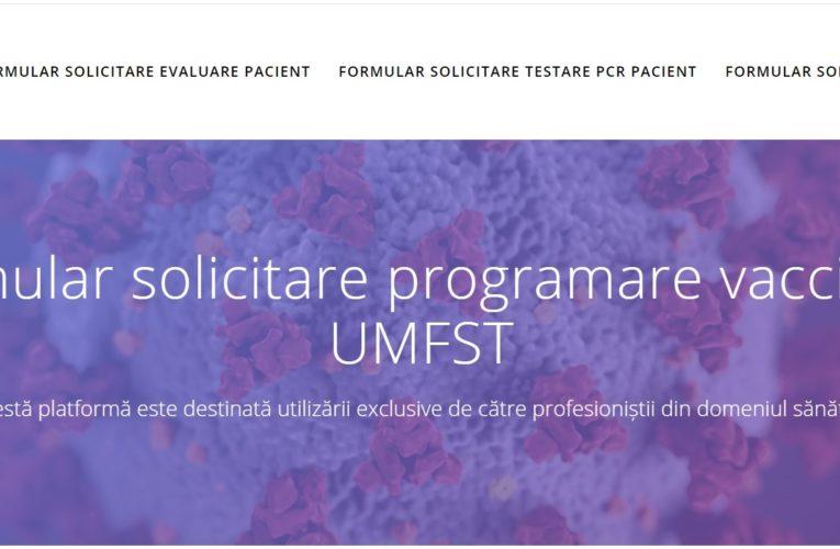 Informare privind vaccinarea studenților și a cadrelor didactice