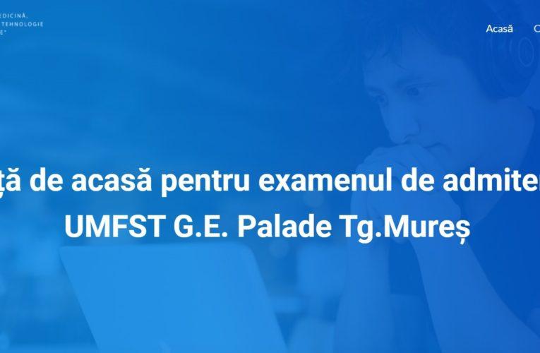 Cursuri de pregătire pentru admiterea la UMFST. Învață de acasă pentru examen!