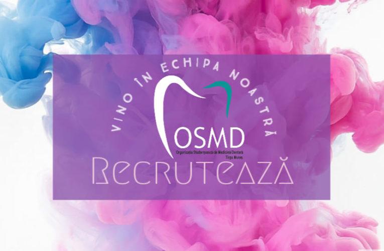 Organizația Studențească de Medicină Dentară caută voluntari