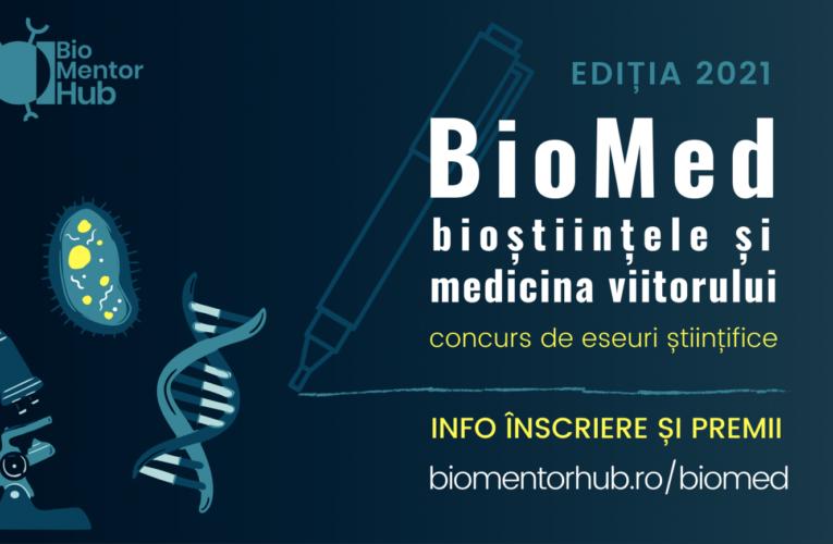 Studenții UMFST, invitați să se înscrie în competiția de eseuri științifice BioMed