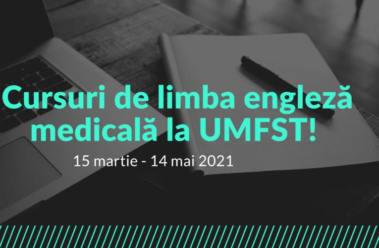Cursuri de limba engleză medicală la UMFST
