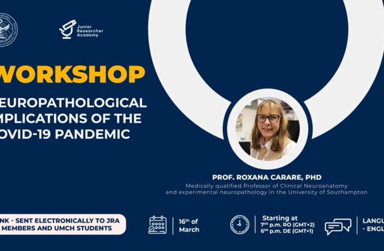 Un nou workshop Junior Researcher Academy