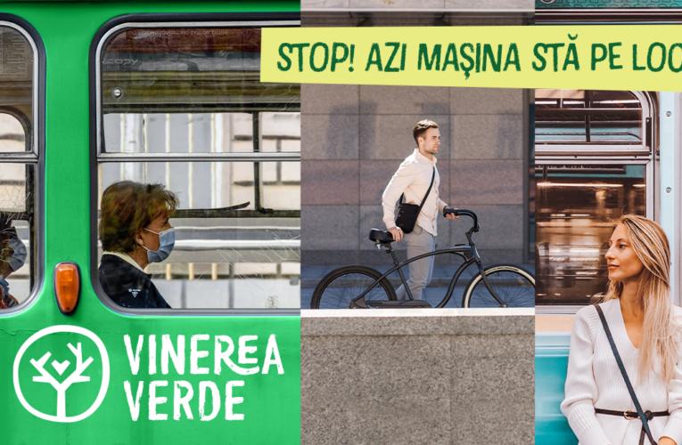 """UMFST se alătură campaniei """"Vinerea Verde"""""""