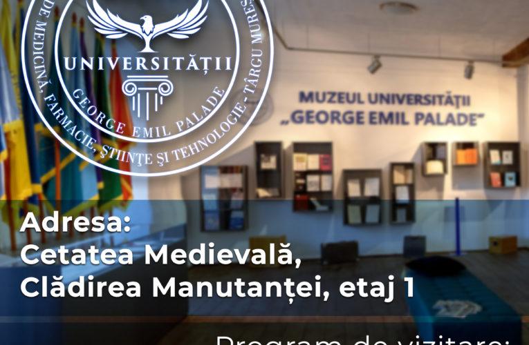 """UMFST vă invită să vizitați Muzeul Universității """"George Emil Palade"""""""