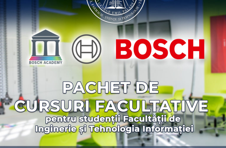 A doua ediție BOSCH Academy la Facultatea de Inginerie și Tehnologia Informației