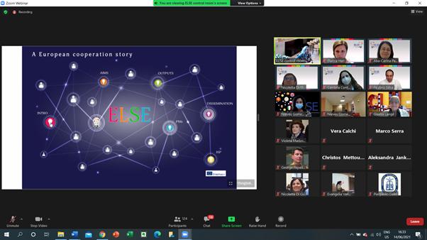 Proiectul internațional ELSE, la final!